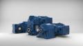 Das WG20-Programm umfasst Stirnrad-, Flach- und Kegelstirnradgetriebemotoren mit robusten Aluminiumdruckgussgehäusen für Nennmomente von 50 bis 600 Nm