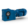 Helical bevel geared motors - Serie K
